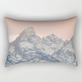 That Alpine Glow Rectangular Pillow