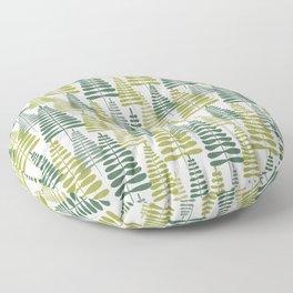 Modern Xmas Trees Floor Pillow