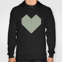 Three Color Cubes Hoody