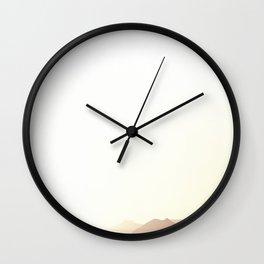Rise Above It II Wall Clock