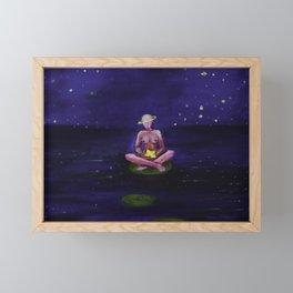 Glass Stars Framed Mini Art Print