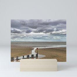 Cleethorpes Beach Lincolnshire Mini Art Print