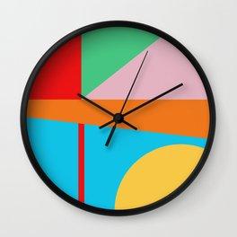Circle Series - Summer Palette No. 5 Wall Clock