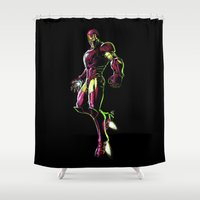 ironman Shower Curtains featuring Ironman by DmDan