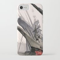 ships iPhone & iPod Cases featuring ships by Nathanaël Ferdinand