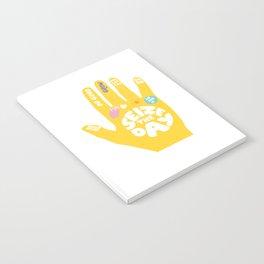 Seize the day – Sunshine hand Notebook