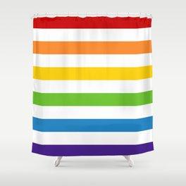 Somewhere Under the Rainbow Shower Curtain