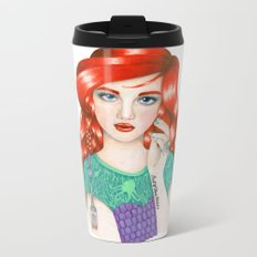 Ariel Metal Travel Mug