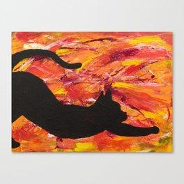 Cat Stretch Canvas Print