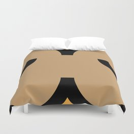 face 5 Duvet Cover