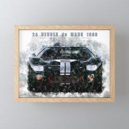 LeMans1966 McLare Amon Framed Mini Art Print