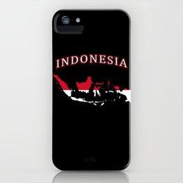 Indonesia iPhone Case