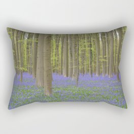 Bluebell Forest 1 Rectangular Pillow