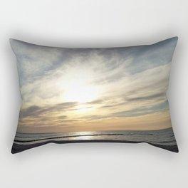 Sunset at Baltic Sea Rectangular Pillow