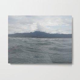 Mountain to the Sea Metal Print