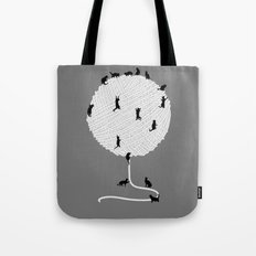 A Cats' Wandering  Place Tote Bag