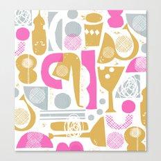 funky jazz Canvas Print