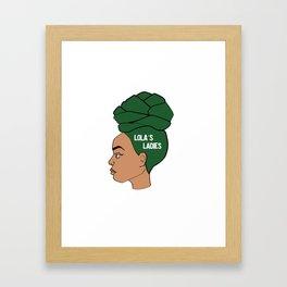 Lola's Ladies II Framed Art Print