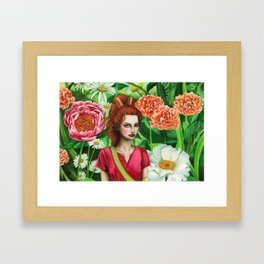 The Borrower Arrietty Framed Art Print