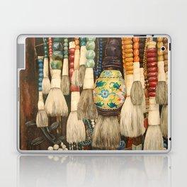 Market Brushes in Shanghai Laptop & iPad Skin