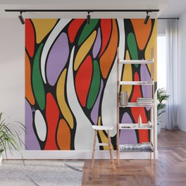 J'y arrive-Getting there- Serré. Wall Mural