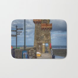 The Rhenish Tower at Lynmouth Bath Mat