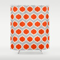morocco Shower Curtains featuring Morocco by Amy Harlow