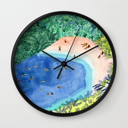 French Paradise Wall Clock