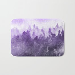Ultra Violet Adventure Forest Bath Mat