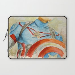 Capt America - Fictional Superhero Laptop Sleeve
