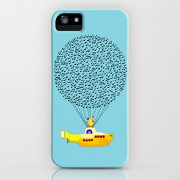 Musical Yellow Submarine iPhone Case