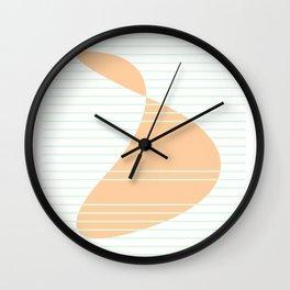 Geometric Calendar - Day 41 Wall Clock