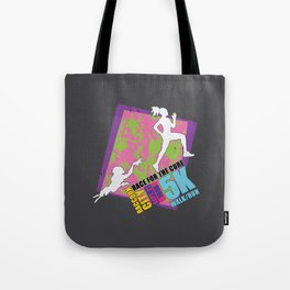Race for the Cure: T-Virus Awareness Tote Bag