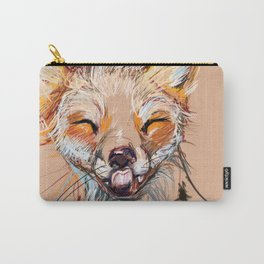 Happy Fox Carry-All Pouch