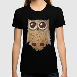 Owl Collage #6 T-shirt