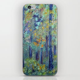 Impressionism Landscape Tree Forest, Rustic Art Home Decor iPhone Skin
