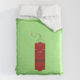 Dynamite explosion guys T-Shirt Dx4x1 Comforters