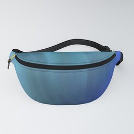 Blue waved Fanny Pack
