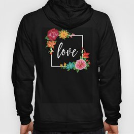Floral Love I. Hoody