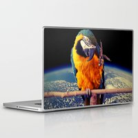 parrot Laptop & iPad Skins featuring Parrot by Cs025