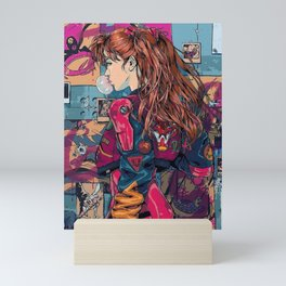 Full Color Pilot Asuka Langley Mini Art Print