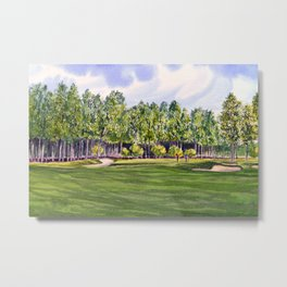 Pinehurst Golf Course No2 Hole 17 Metal Print