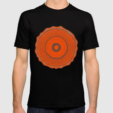 Poppies Poppies Poppies Mens Fitted Tee Black MEDIUM