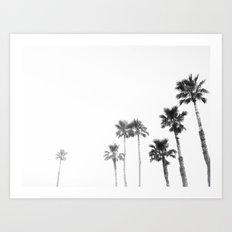 Tranquillity - bw Art Print