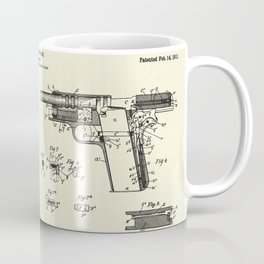 Firearm-1911 Coffee Mug