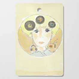 Thoughts at 45 rpm Cutting Board