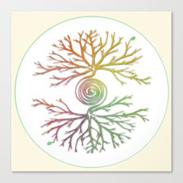 Tree of Life in Balance Canvas Print