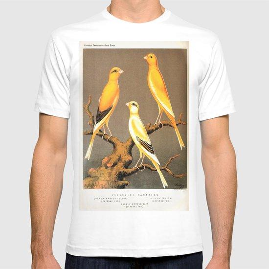 Orange Canaries  T-shirt