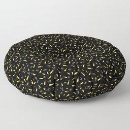 pencil doodle Floor Pillow
