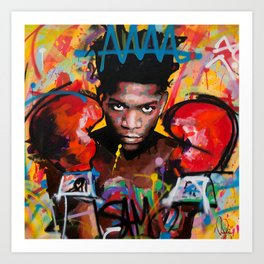 Jean-Michel Basquiat ART Art Print